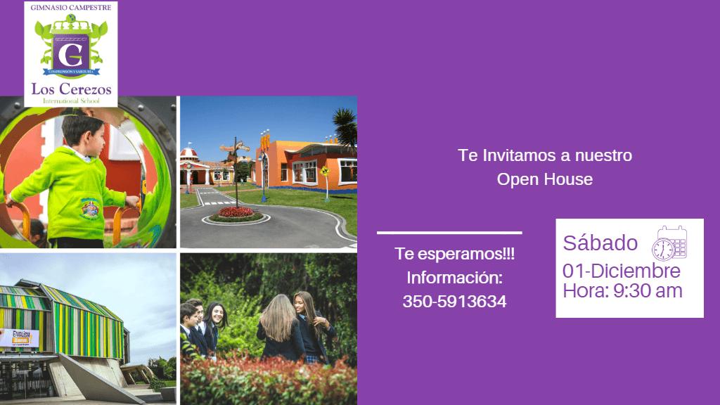 """""""Open house"""" en el Gimnasio Campestre Los Cerezos"""