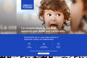 Te invitamos a ser parte de la charla informativa sobre admisiones 2019 del Gimnasio Fontana