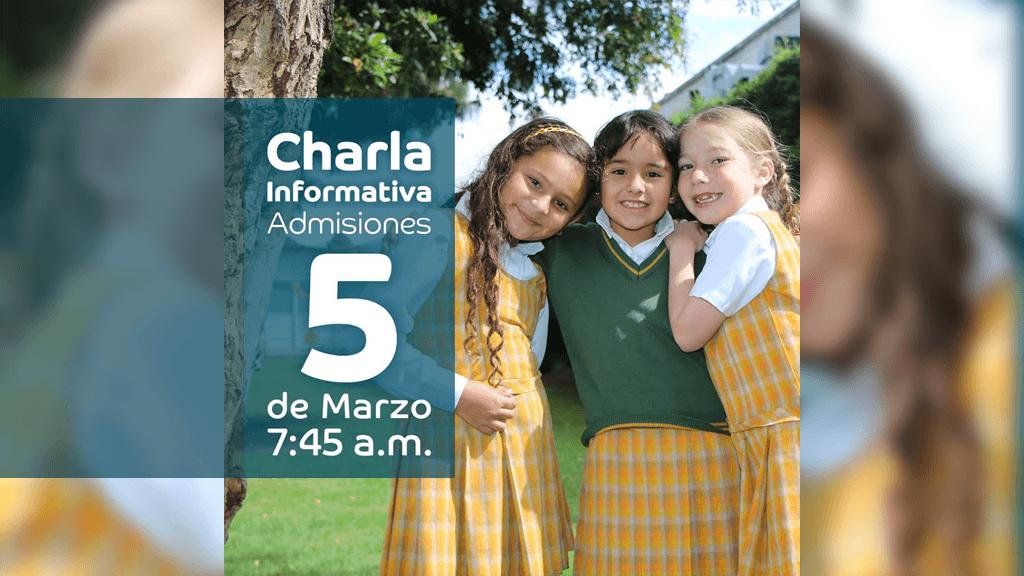 Charla informativa de Admisiones, El Colegio Santa Francisca Romana prepara a las niñas para enfrentar los retos del Siglo XXI.
