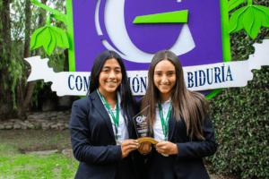 Estudiantes del Gimnasio Campestre los Cerezos ganan concurso de emprendimiento organizado por la Universidad Externado de Colombia