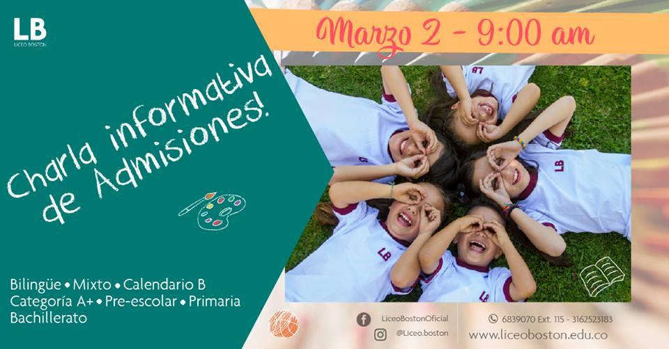¡Ven a vivir una experiencia de aprendizaje transformador! - Liceo Boston (Bogotá)