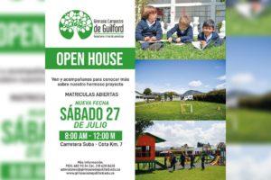 colegio Gimnasio Campestre de Guilford te invita su próximo Open House