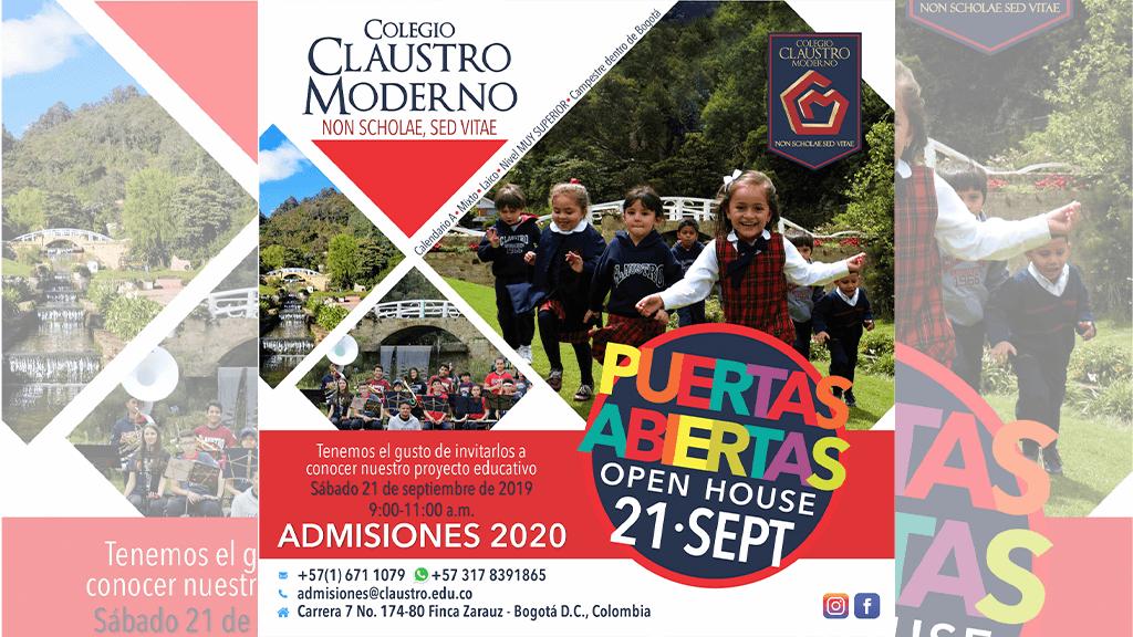 ¡Con el aire puro y el agua de la montaña, un colegio dentro de Bogotá!
