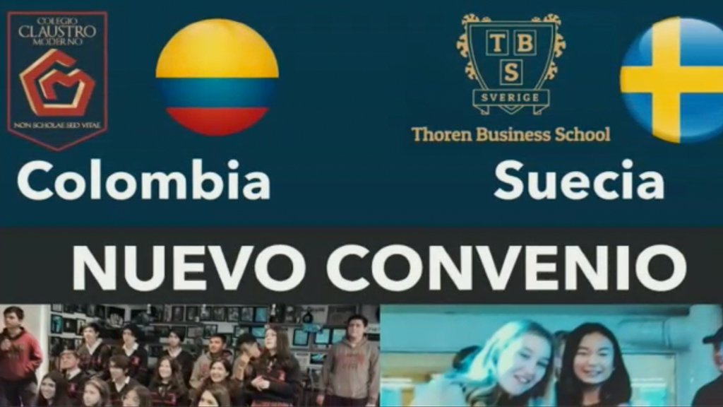 Convenio con el Colegio Thoren Business School