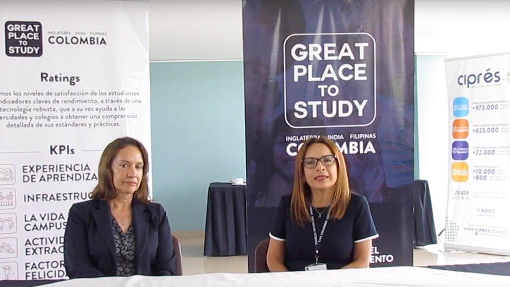 Entrevista a directoras del colegio Colombo American School por su nueva acreditación