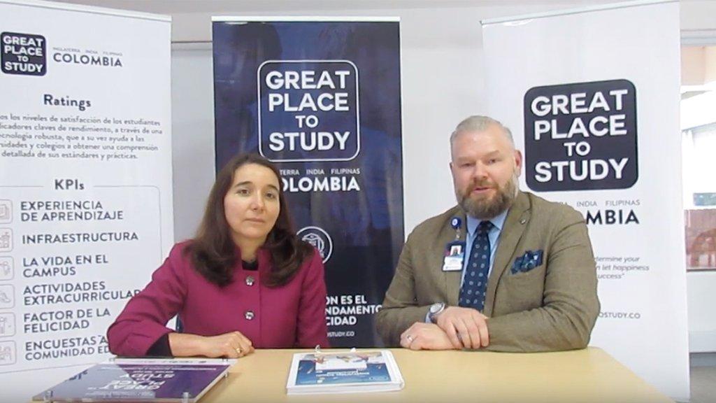 Entrevista a directores del colegio Knightsbridge Schools International por su nueva acreditación