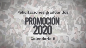 Homenaje a la promoción 2020