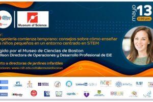 Conoce y participa del taller de STEM – Museo de Ciencias de Boston – Colegio Santa Francisca Romana
