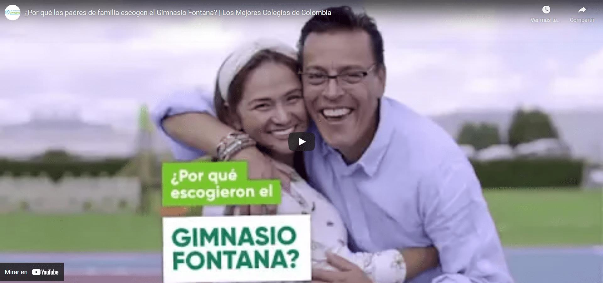 ¿Por qué los padres de familia escogen el Gimnasio Fontana?