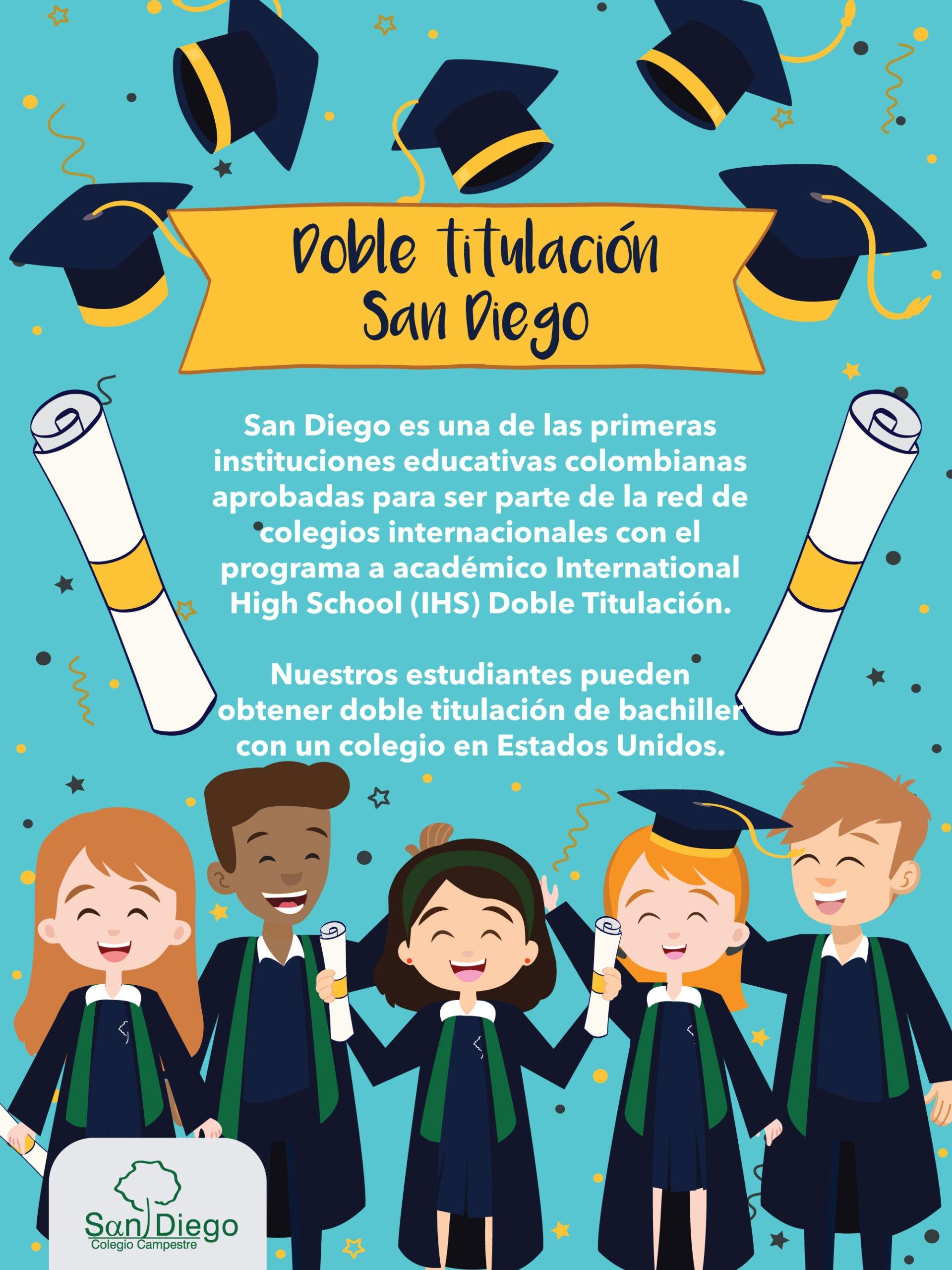 Doble Titulación en el Colegio San Diego