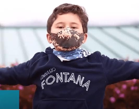 Niño del Gimnasio Fontana