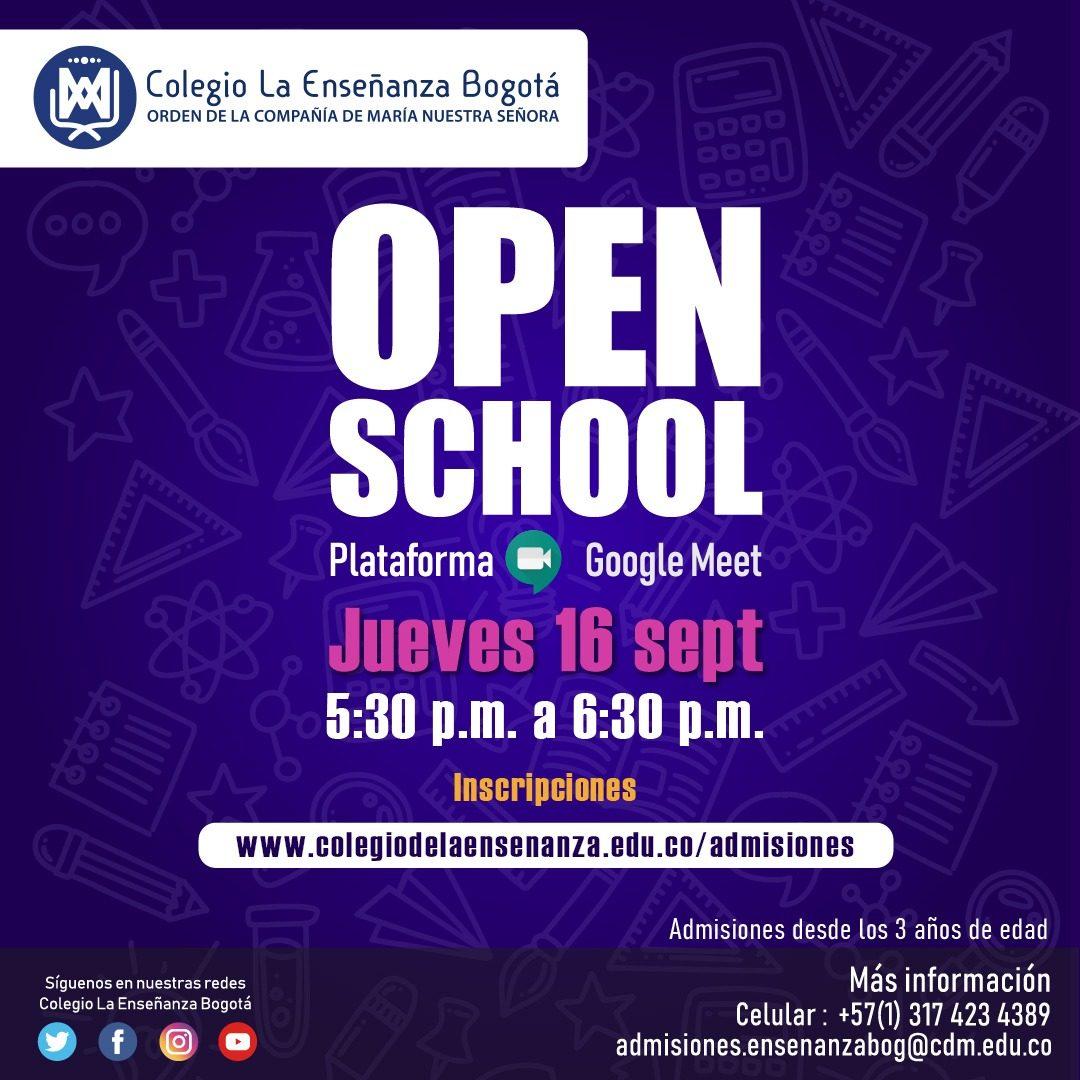 OPEN SCHOOL - LA ENSEÑANZA