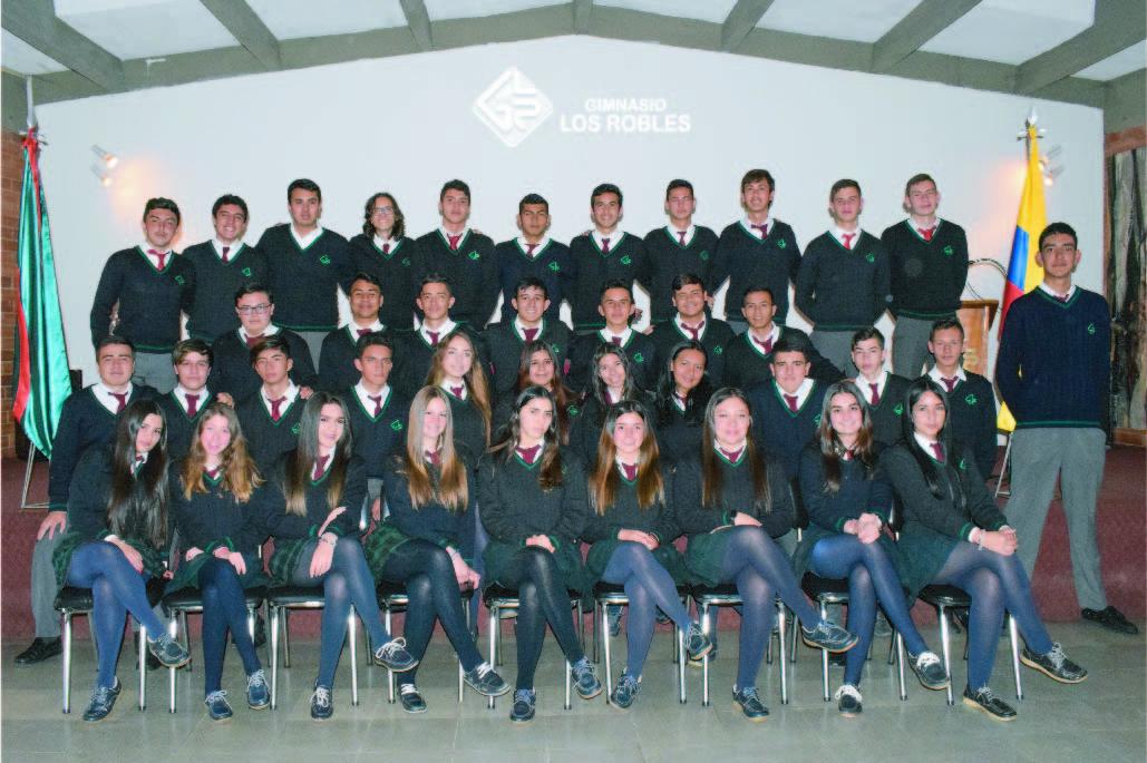 Pruebas Saber 11 en el Gimnasio Los Robles