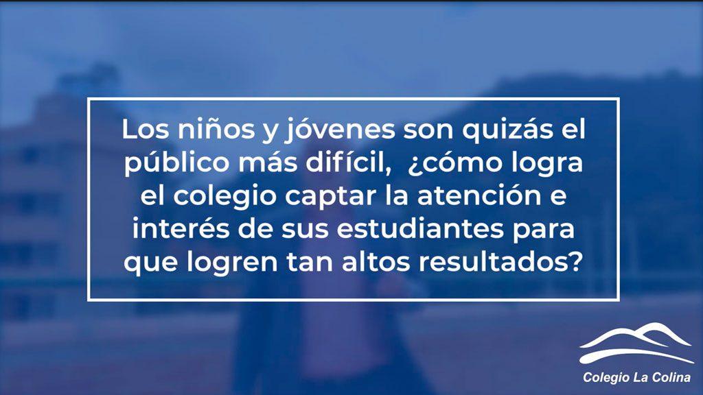 Colegio La Colina para obtener excelentesresultados en las Pruebas SABER 11